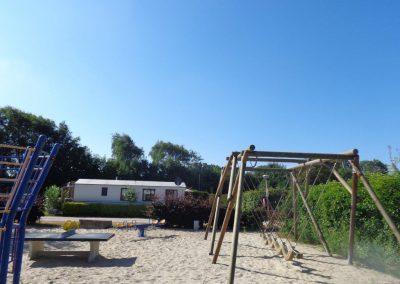 camping witte speelplaats